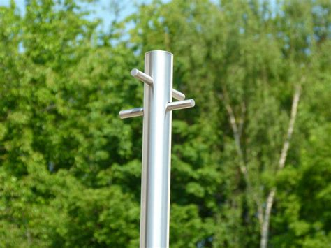 Stainless Steel Washing line post - Modern Style Heavy