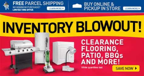 Lowe's Canada Inventory Blowout: Clearance Flooring, Patio