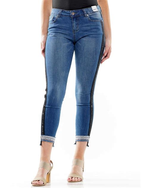 Stoned Up Skinny Super Stretch Jeans Size 1-15 - Hush Boutique