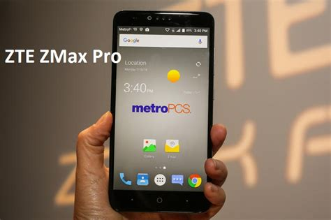 ZTE ZMax Pro MetroPCS review - Specs and Price - GSE Mobiles