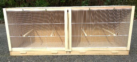 Double Finch Breeding Cage - Sheet material cutting