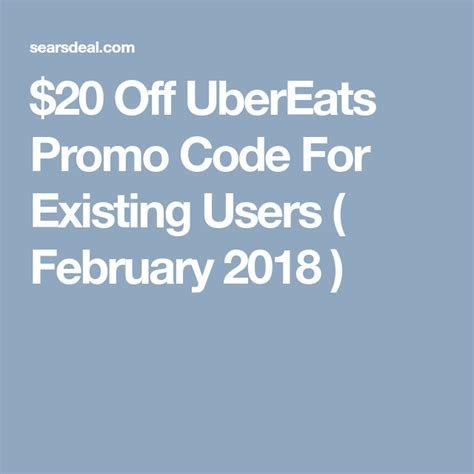 $50 w/ Ubereats Promo Code For Existing Users (AUG