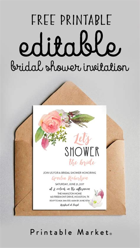 Find the Perfect Printable | Printable Market | Bridal