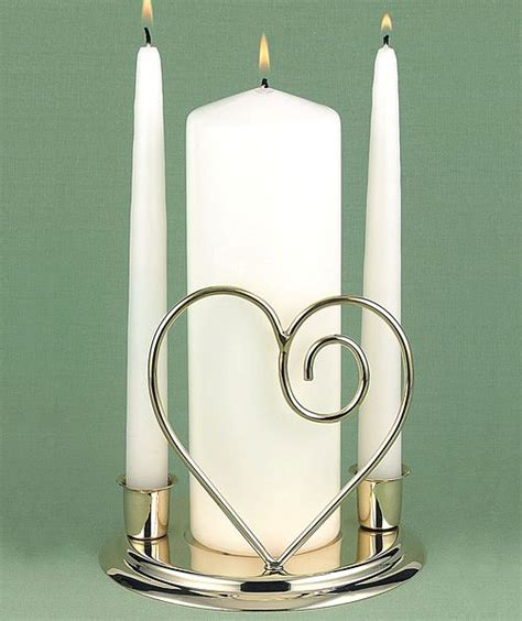 Ivory Unity and Taper Candles Set