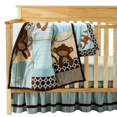 monkey bedding | Baby bedding sets, Baby bed, Lambs & ivy