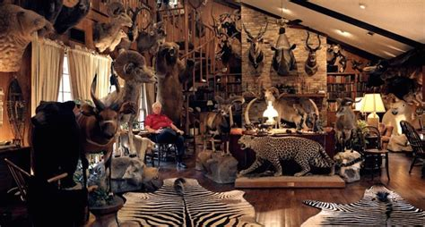 These 11 Trophy Rooms Will Blow Your Mind - Wide Open Spaces