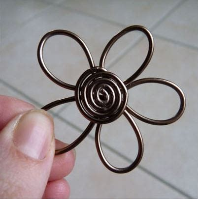 How to Make Wire Flower Earrings Tutorials - The Beading