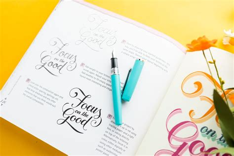 Mastering Hand-Lettering Book – The Goulet Pen Company