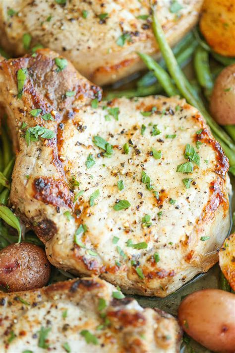 One Pan Ranch Pork Chops and Veggies   KeepRecipes: Your