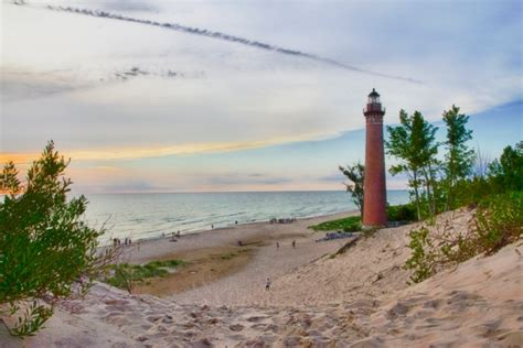 10 Of The Most Beach Camping Spots In Michigan