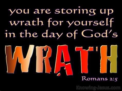Romans 2:5 - Verse of the Day