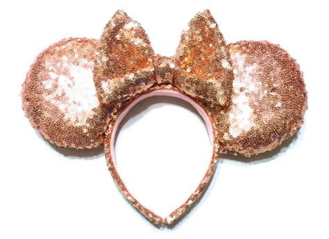 Get Your Rose Gold Minnie Ears Fix With These Handmade