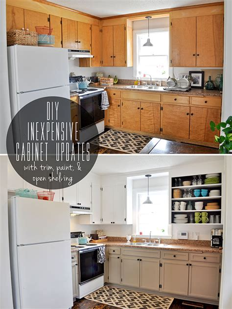 8 Low-Cost DIY Ways to Give Your Kitchen Cabinets a Makeover