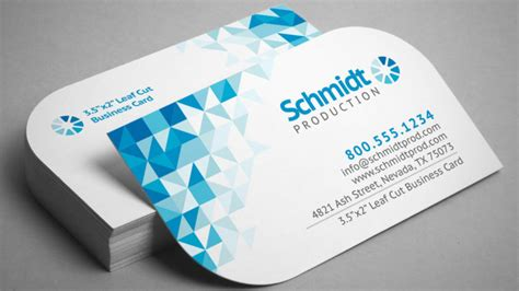 500 Business Cards Single Sided Round Corners - Express