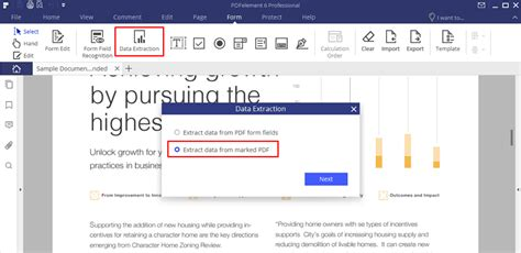 Easiest Ways to Extract Data from PDF | Wondershare PDFelement