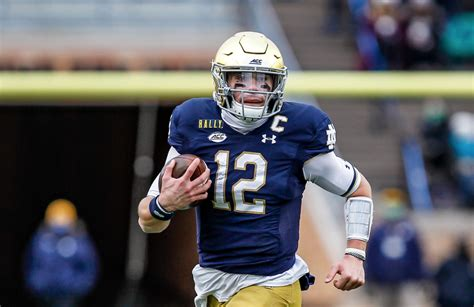 Ian Book Talks Becoming Notre Dame's All-Time Winningest