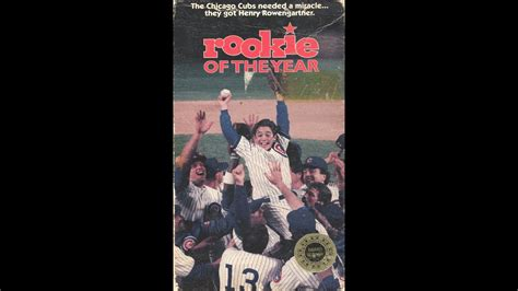 Opening To Rookie Of The Year 1994 VHS - YouTube