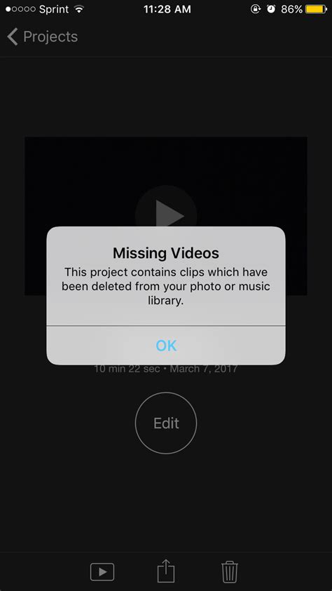 why isn't iMovie letting me save my video? - Ask Different