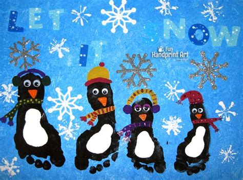 Over 20 Christmas Hand and Footprint Ideas - The Keeper of