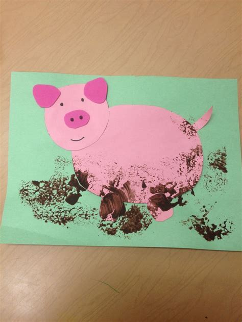Image result for preschool pinterest craft about pigs