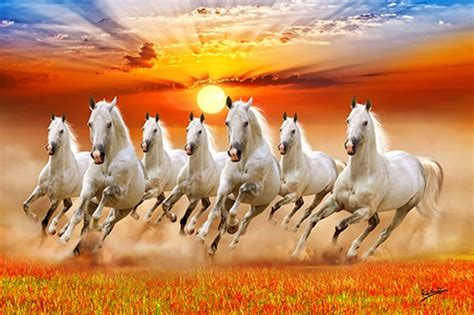 Where should I hang seven horses painting at my house? Are