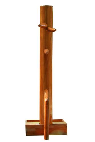Natural Free Standing Wooden Wing Chun Dummy, Rs 25000