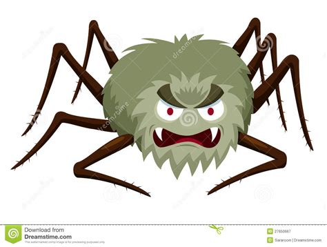 Cartoon Spider Royalty Free Stock Photography - Image