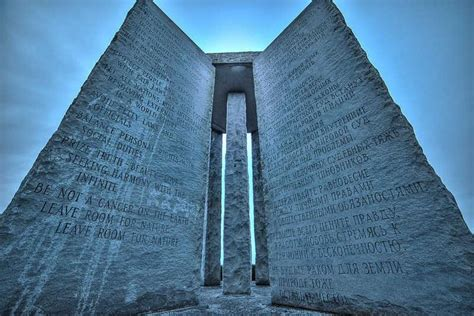 Blood on the Georgia Guidestones? - News - Athens Banner