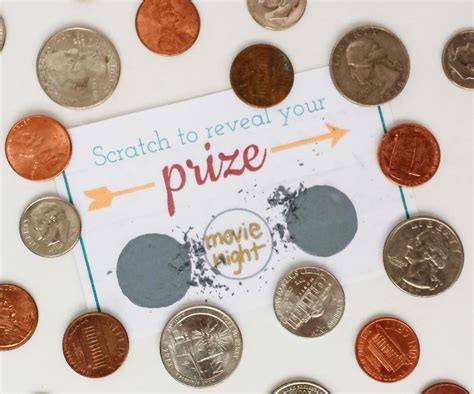 Scratch Off Cards - Make Your Own