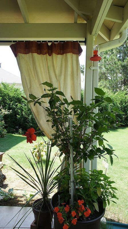 Mildew on Curtains   Patio decorating ideas on a budget