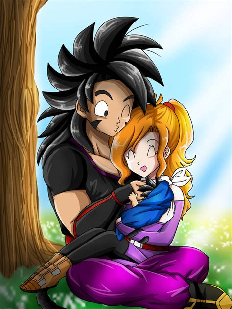 DBZ OCs art: First born family time! by artycomicfangirl