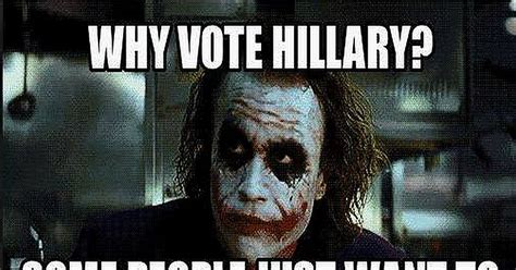 Why Some People Will Vote For Hillary No Matter What [MEME]
