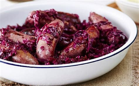 Sausage & Red Cabbage Casserole - Mature Times