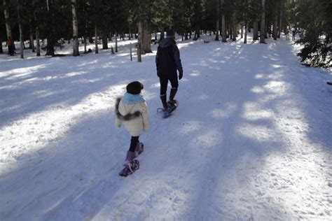 Snowshoeing and Cross-Country Skiing Helps Burn Extra