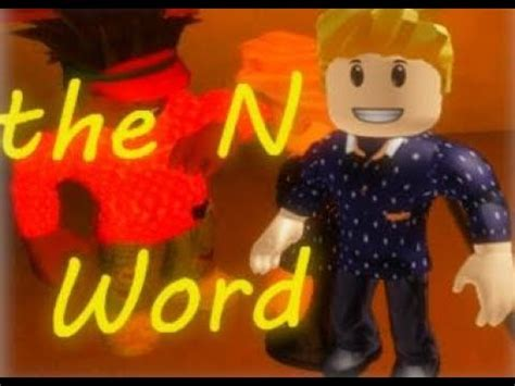 Roblox Realistic Roleplay 2 - Saying the N word - YouTube