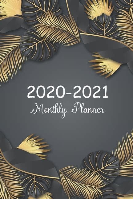 2020-2021 Daily Monthly Calendar Pocket Planner, 24 Months