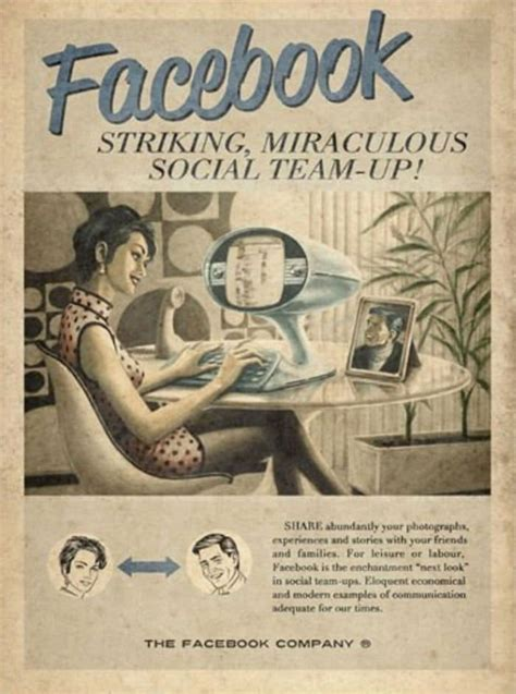 This Is How Social Media Would Be Advertised In The 1950s