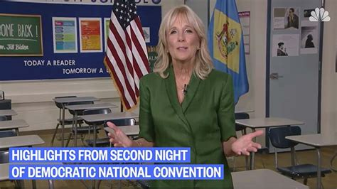 Jill Biden steals the show, Top moments from Night 2 of