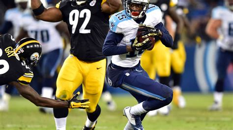 Steelers salary cap: Contract numbers for WR Hunter and RB