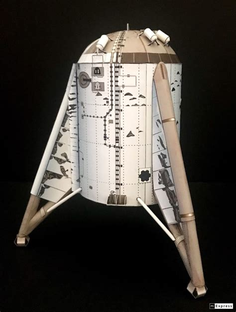 SpaceX Starship - AXM Paper Space Scale Models