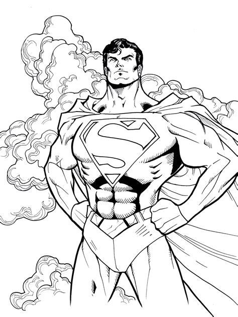 Lego Superman Coloring Pages - Coloring Home