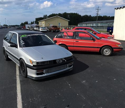 Dodge Colt with a 4G63T Inline-Four and AWD Drivetrain