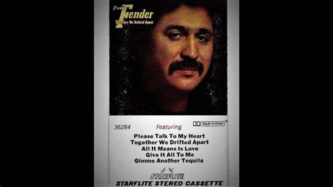 Freddy Fender - Give It All To Me 1979 - YouTube
