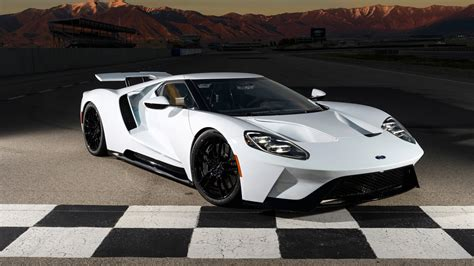 2017 Ford GT 2017 Race track Wallpaper | HD Car Wallpapers