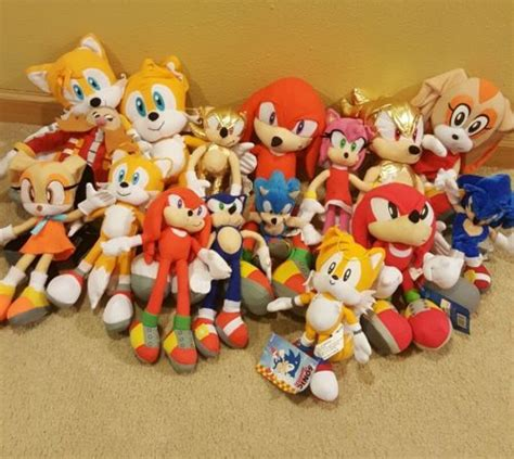 Sonic Plush Toys - For Sale Classifieds