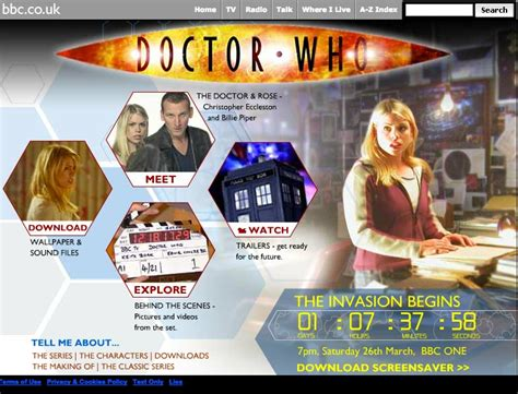 Doctor Who 2005 Series Launch with Christopher Eccleston