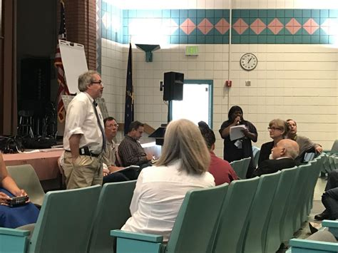 Questions about drinking water flow at EPA meeting in East