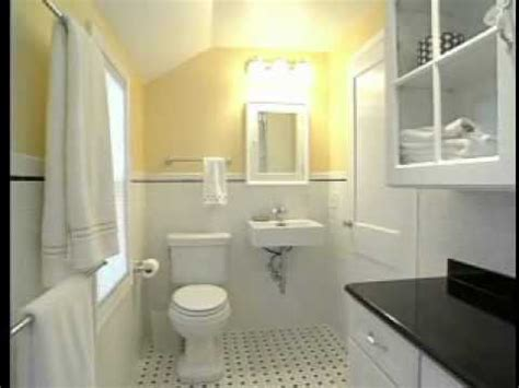 How to Design & Remodel a Small Bathroom - 75 Year Old