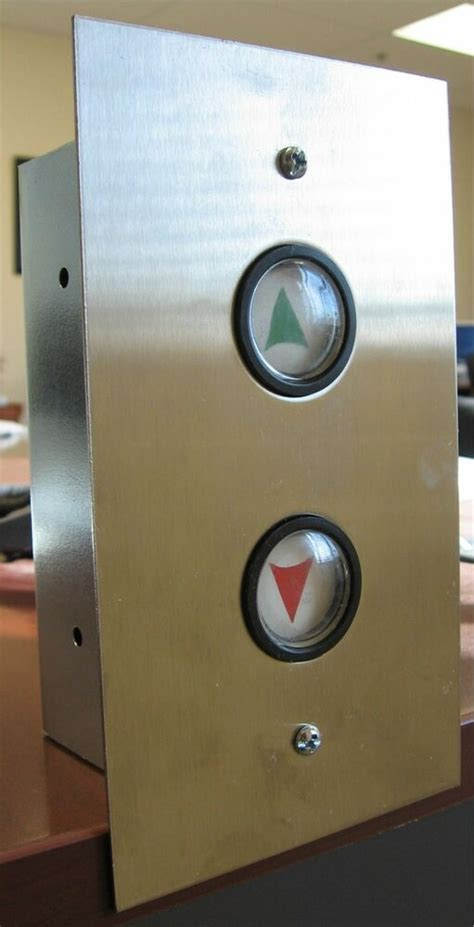 ELEVATOR PUSH BUTTONS,S/06 HALL STATION,UP & DOWN ARROW | eBay