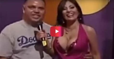This busty TV host is easily the star of the show | Rare